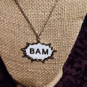 BAM comic book ComicCon cosplay anime necklace